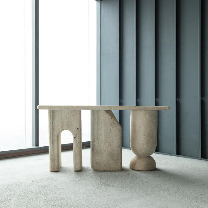 The Raúl de la Cerda console, from the Tacubaya collection, developed by the Difane duo.