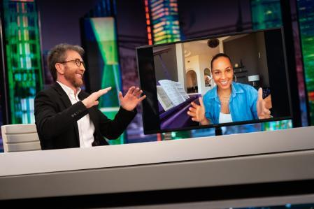 Alicia Keys explained in 'El hormiguero' how she got her first piano