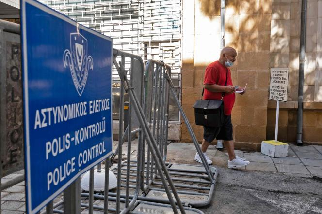 In Ledras, Friday June 4, one of the island's nine crossing points.  The UN, which controls the buffer zone between the two parts of the island, believes that the reopening will have