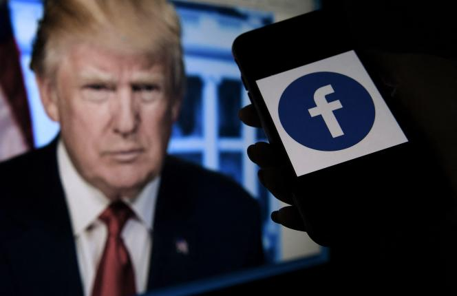Donald Trump has repeatedly used his Facebook account to spread conspiracy theories.