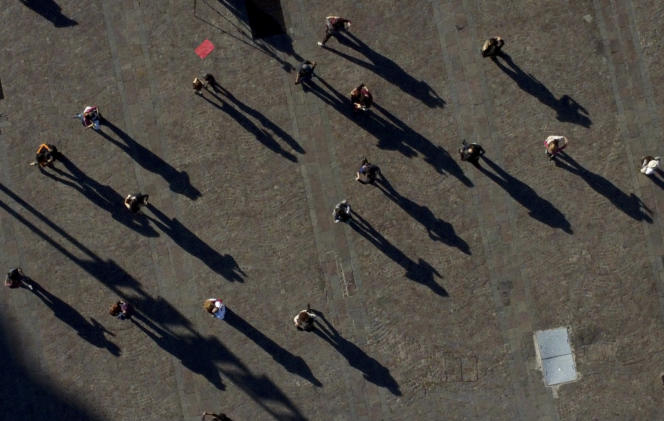 Dancing demonstration to protest against the government's management of the health crisis, in Buenos Aires, May 25, 2021.