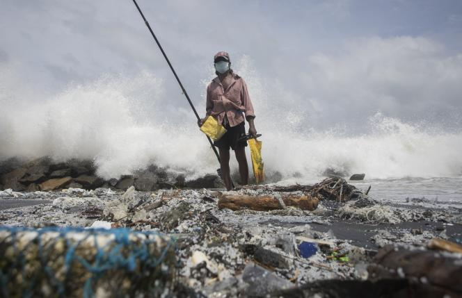 Sri Lankan beaches were invaded by millions of plastic pellets, causing fishing to be banned in June 2021.