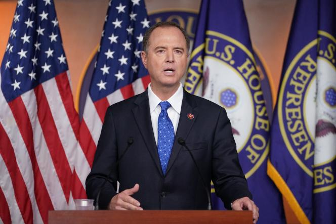 Adam Schiff, Chairman of the House of Representatives Intelligence Committee, here in September 2019.