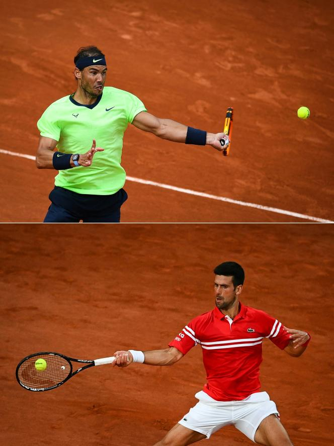 The Spaniard Rafael Nadal and the Serbian Novak Djokovic face each other for the 58th time in their career, Friday in the semi-finals of Roland Garros, the most fertile rivalry since the duels between Chris Evert and Martina Navratilova in the 1970s- 1980.