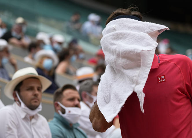 At one point during the meeting, Roger Federer confessed to being