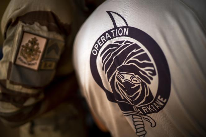 French soldiers from Operation Barkhane on the Gao military base in Mali pack up before leaving the country on June 9, 2021.