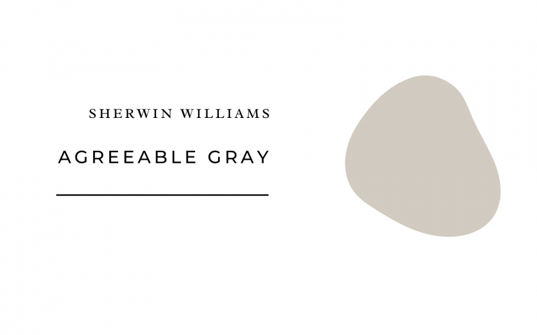 sherwin williams agradable gris